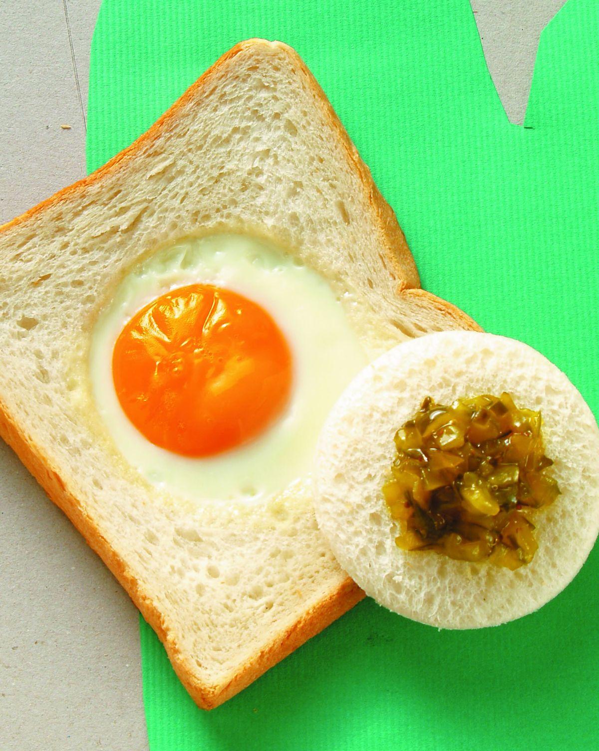 食譜:太陽蛋三明治