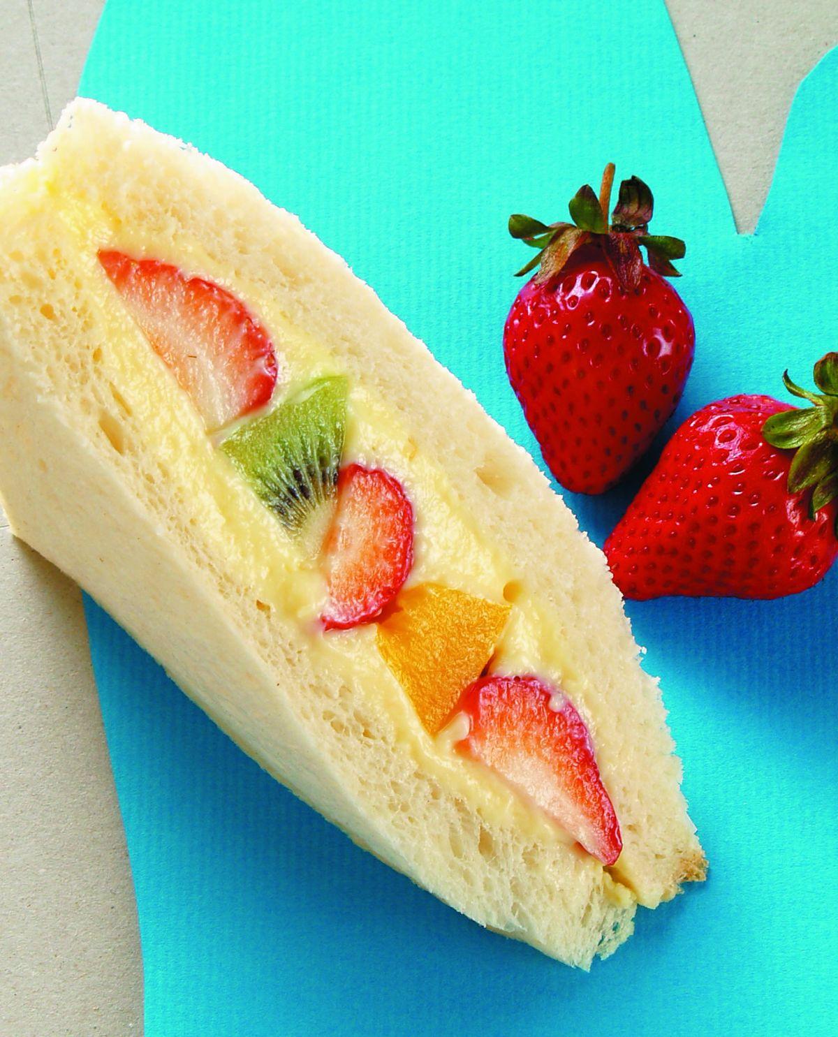 食譜:什錦水果三明治