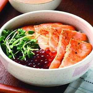 鮭魚親子蓋飯