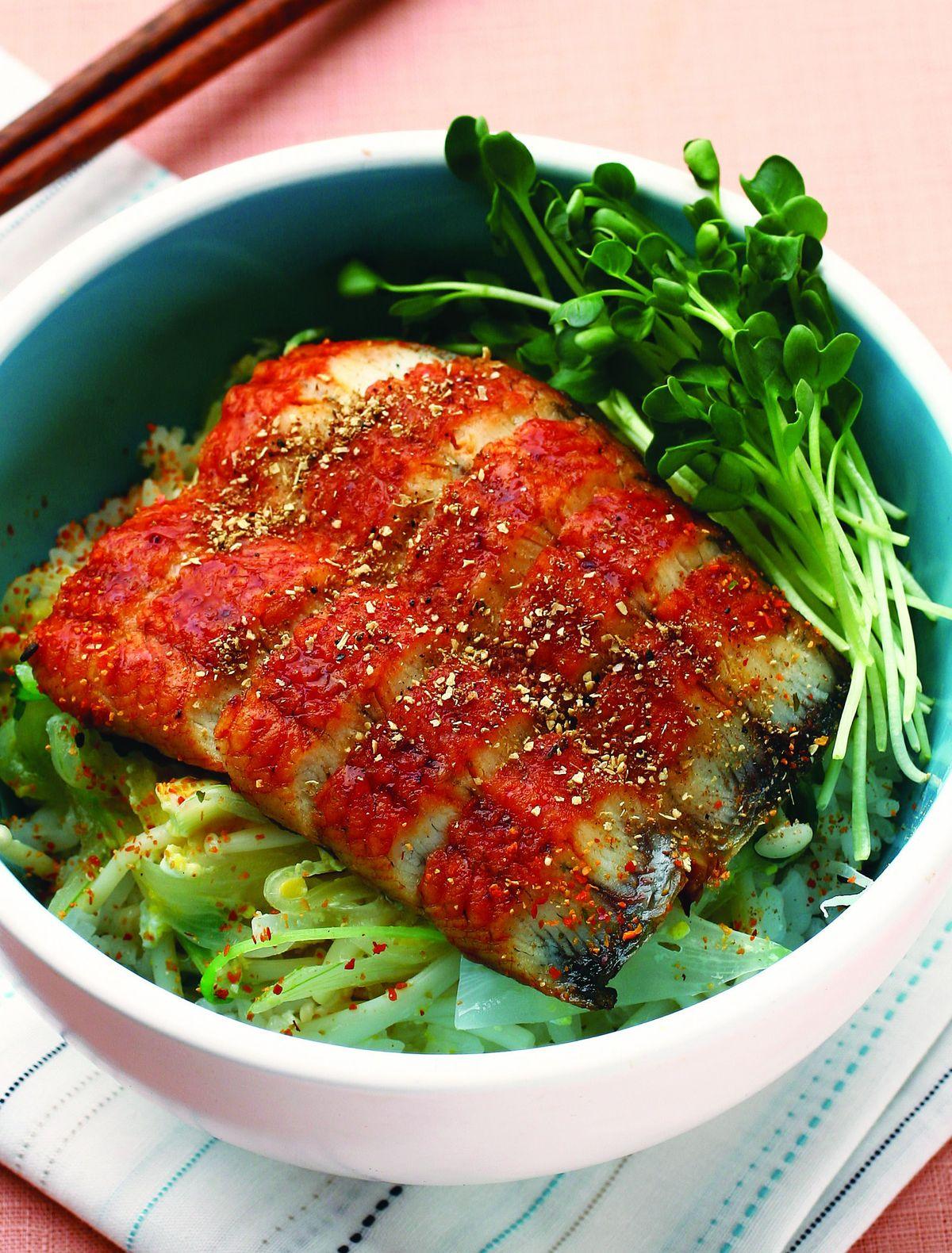 食譜:鰻魚柳川蓋飯