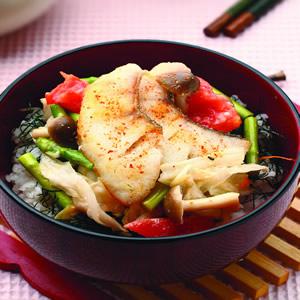 鯛魚泡菜蓋飯