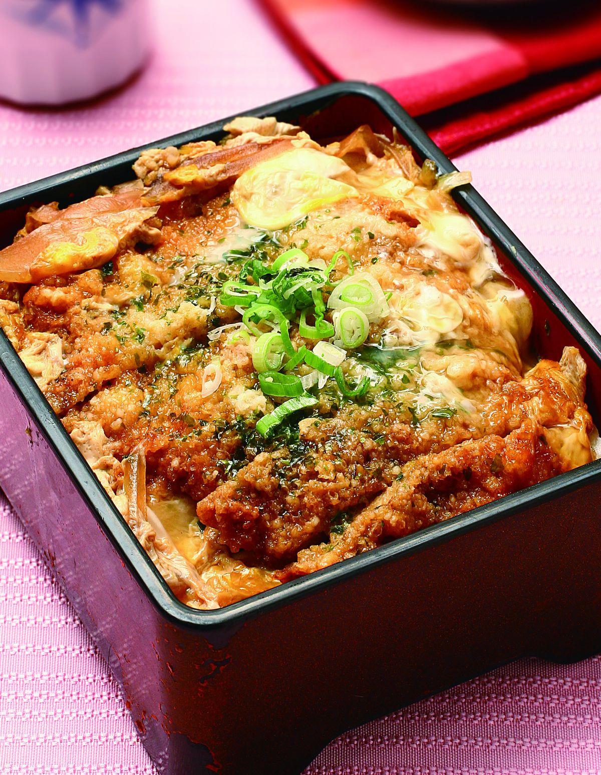 食譜:豬排蓋飯(1)