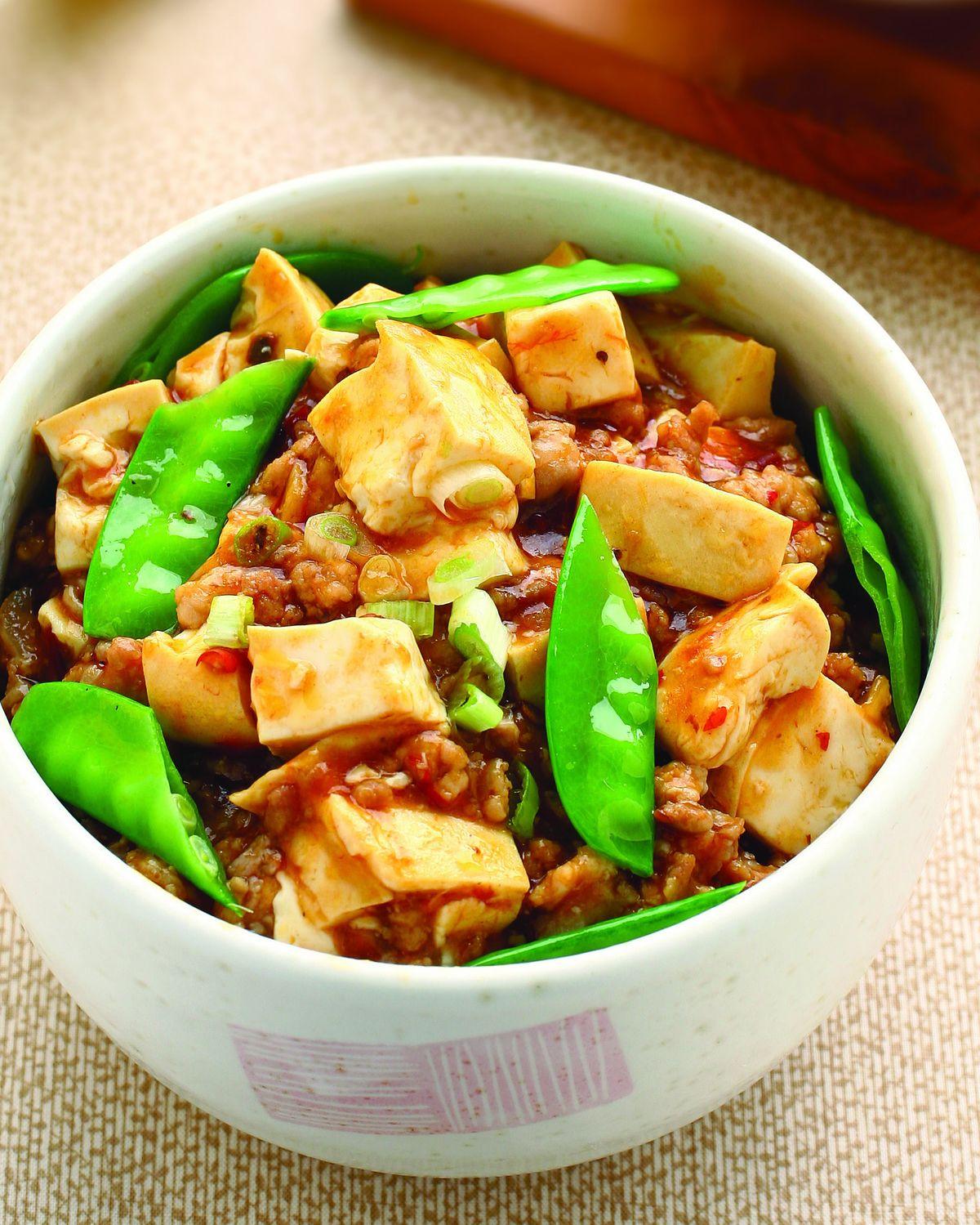 食譜:麻婆豆腐蓋飯(1)