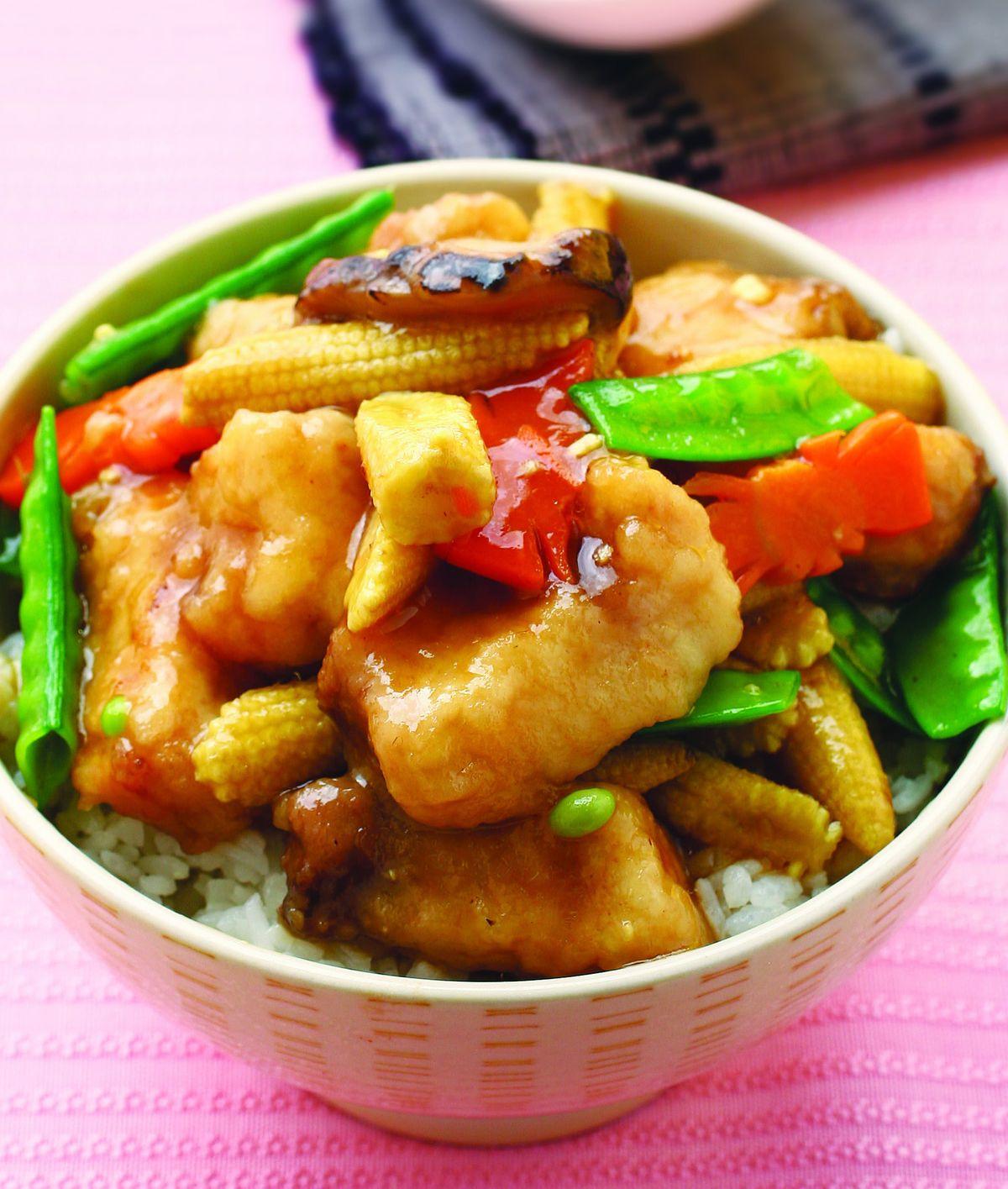 食譜:紅燒魚腩蓋飯