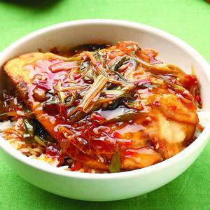 泰式薑味鮮魚蓋飯