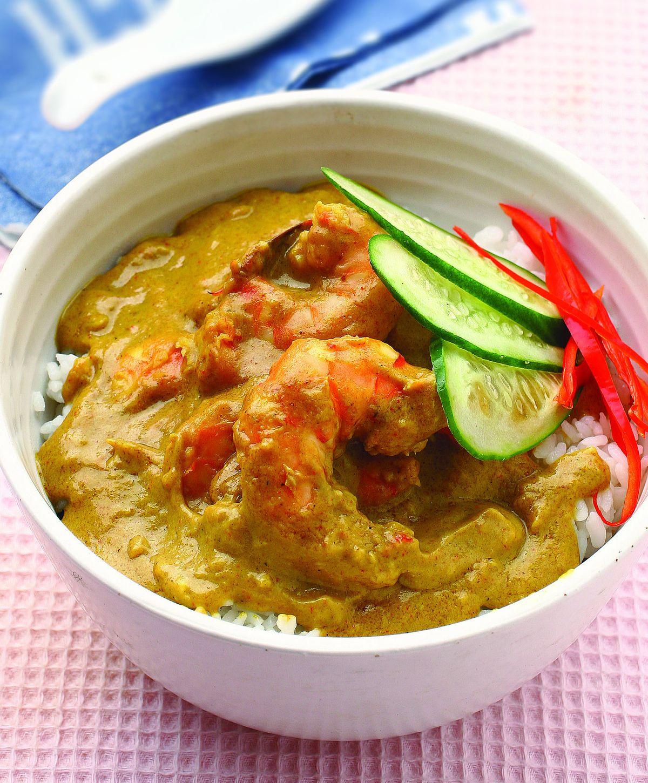 食譜:印度辣味蝦仁蓋飯