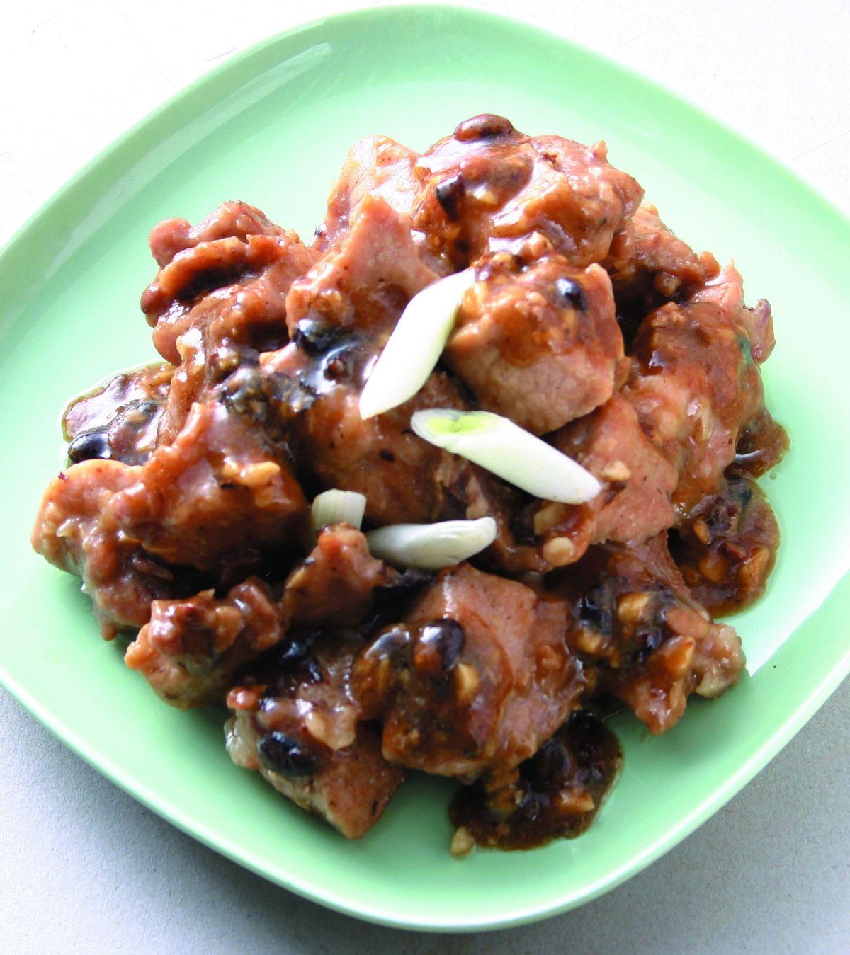 食譜:豆豉蒸排骨(3)