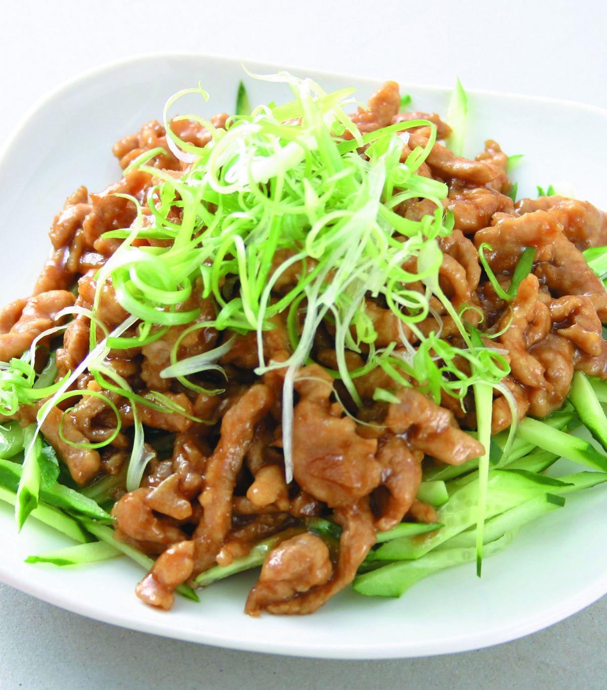 食譜:京醬肉絲(9)