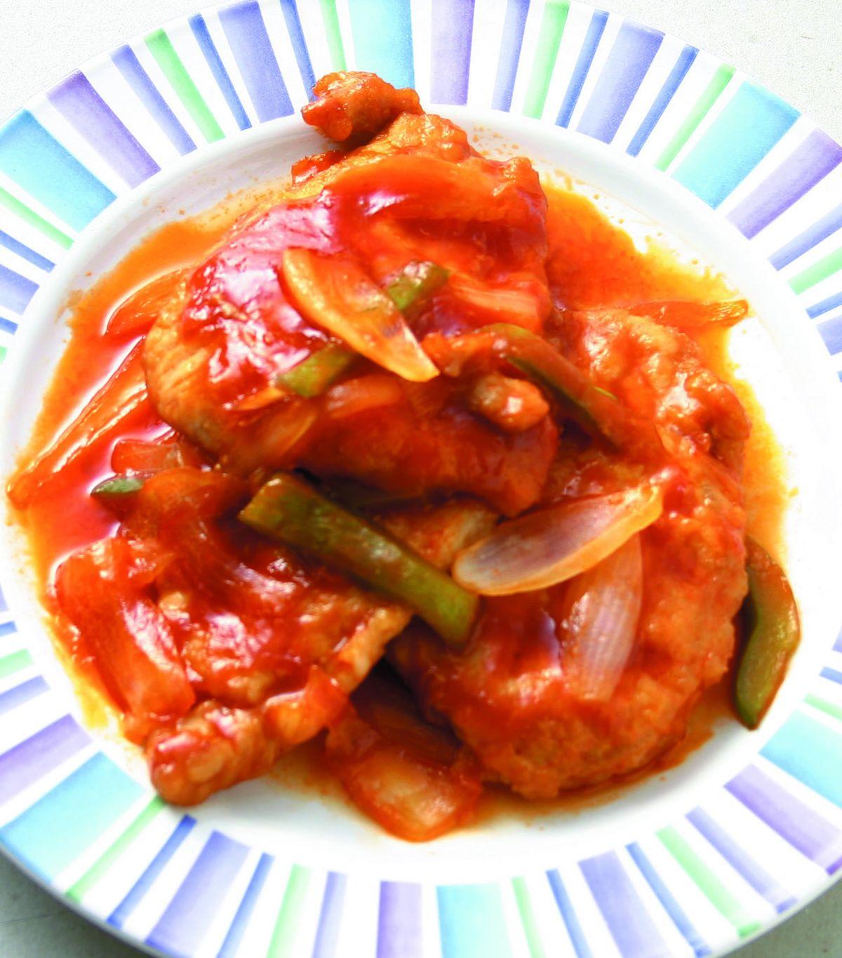 食譜:茄汁豬排(1)
