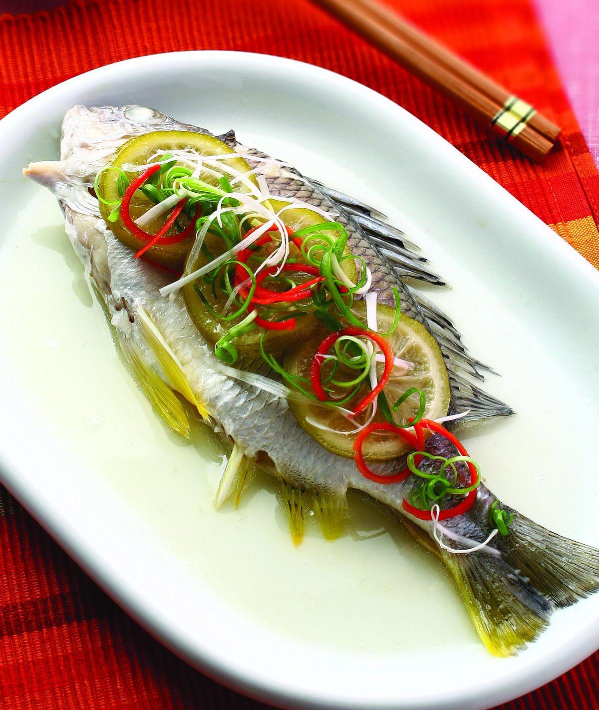 食譜:檸檬蒸魚