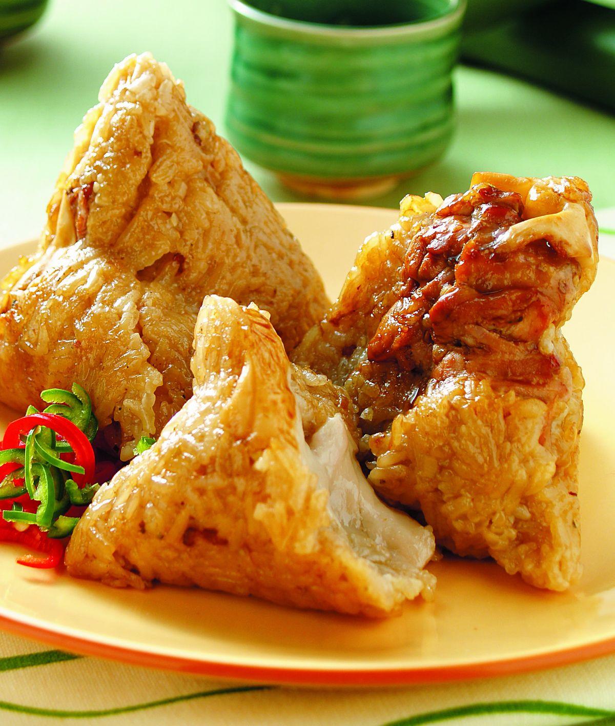 食譜:泰式咖哩粽