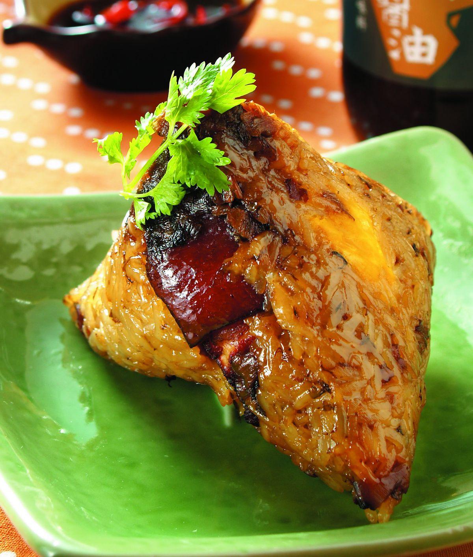 食譜:梅菜肉粽