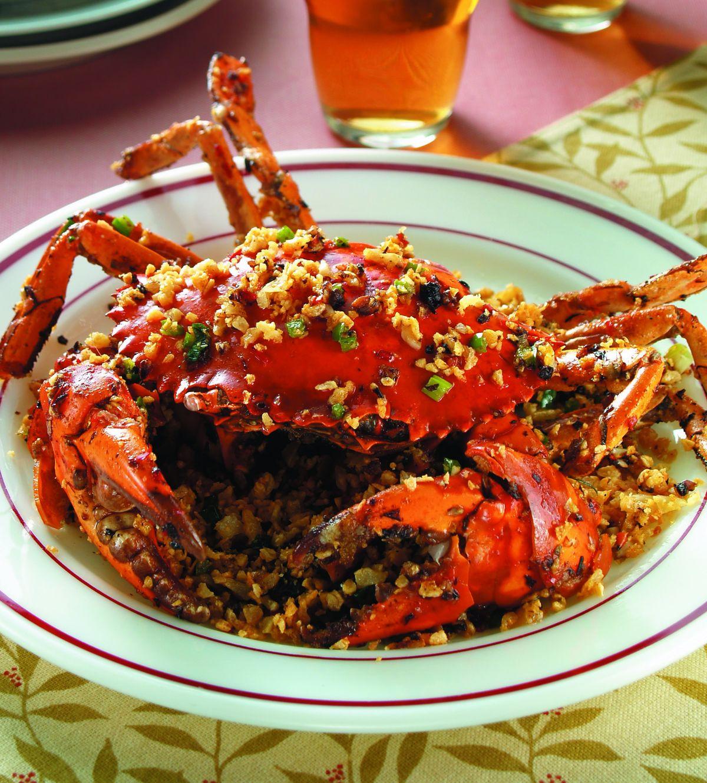 食譜:避風塘炒蟹(2)