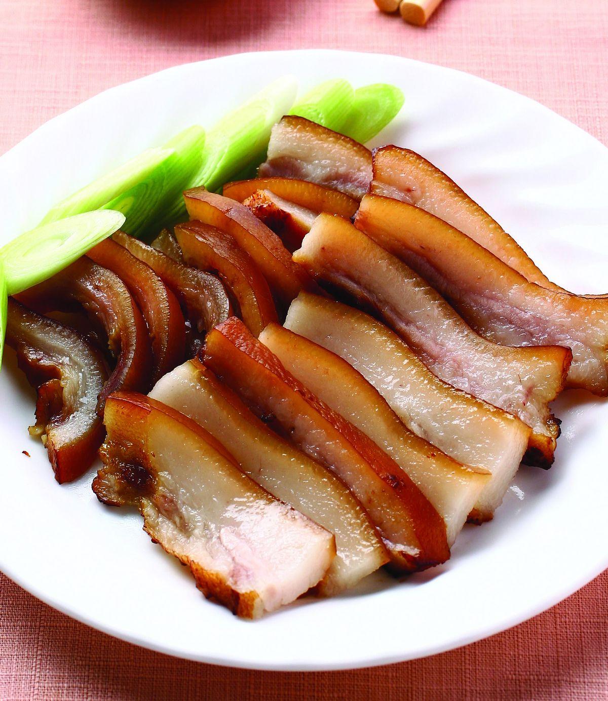 食譜:醃燻豬頭皮