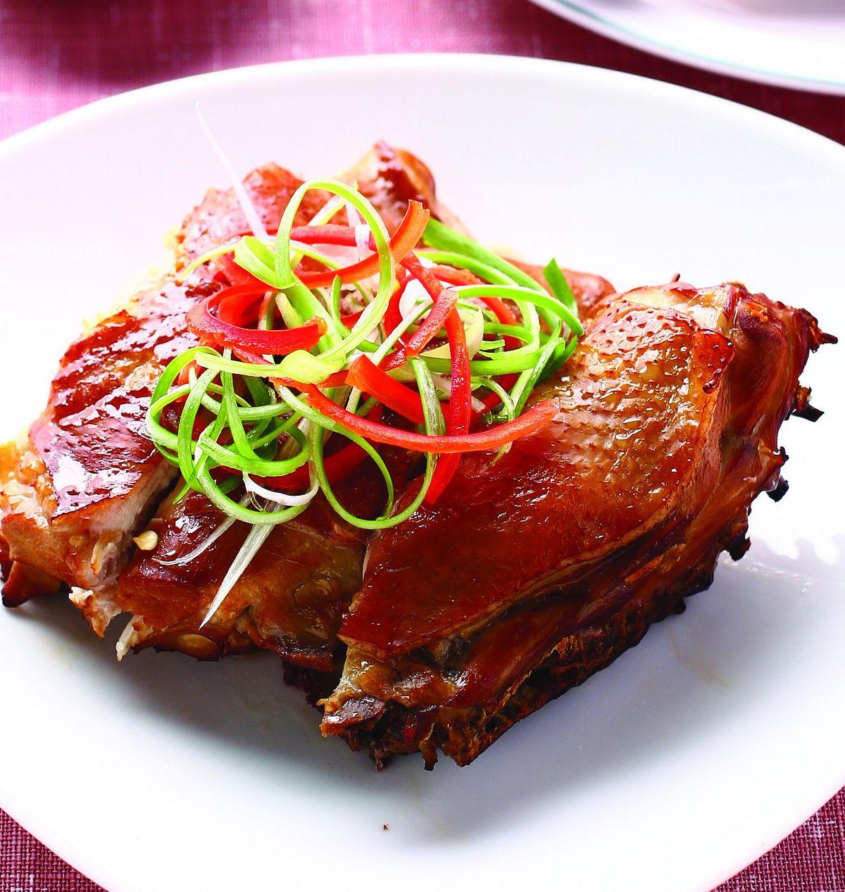 食譜:煙燻雞腿