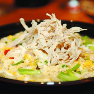 香蔘雞肉麵