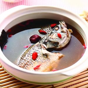 聰明鱸魚湯