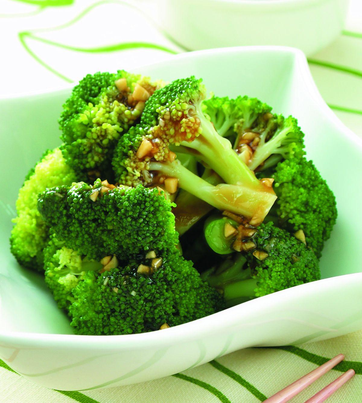食譜:蒜蓉青花菜