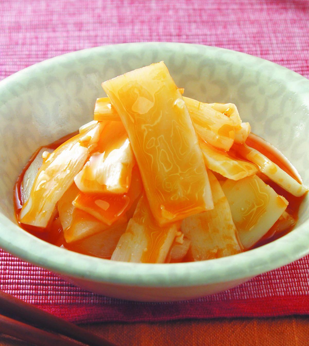 食譜:紅油脆筍(1)