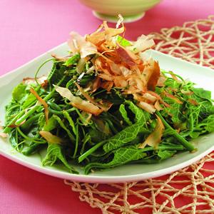 柴魚拌龍鬚菜