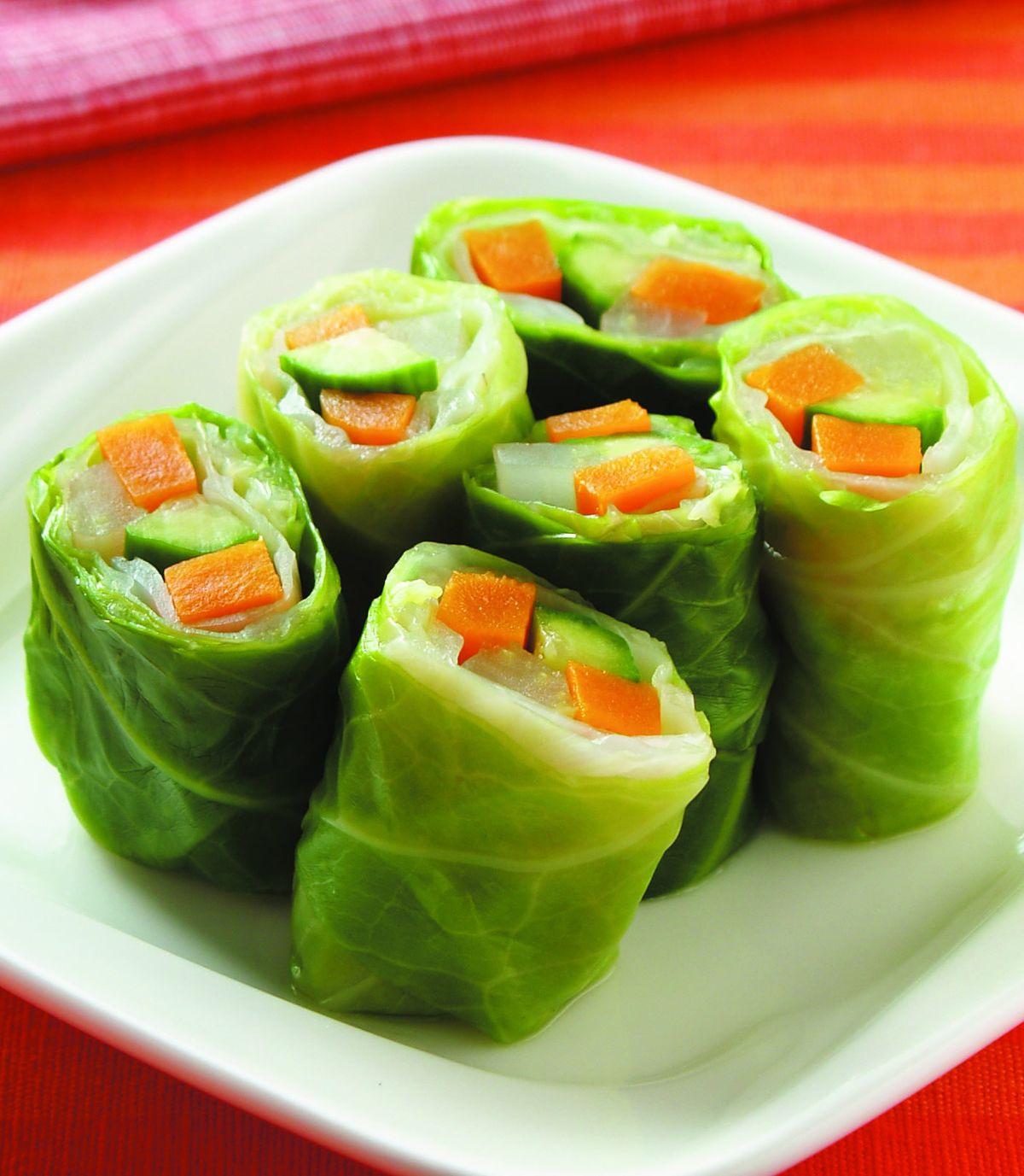 食譜:高麗蔬菜卷