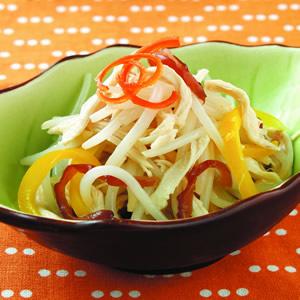 銀芽拌雞絲(1)