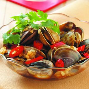 蒜味鹹蛤蠣