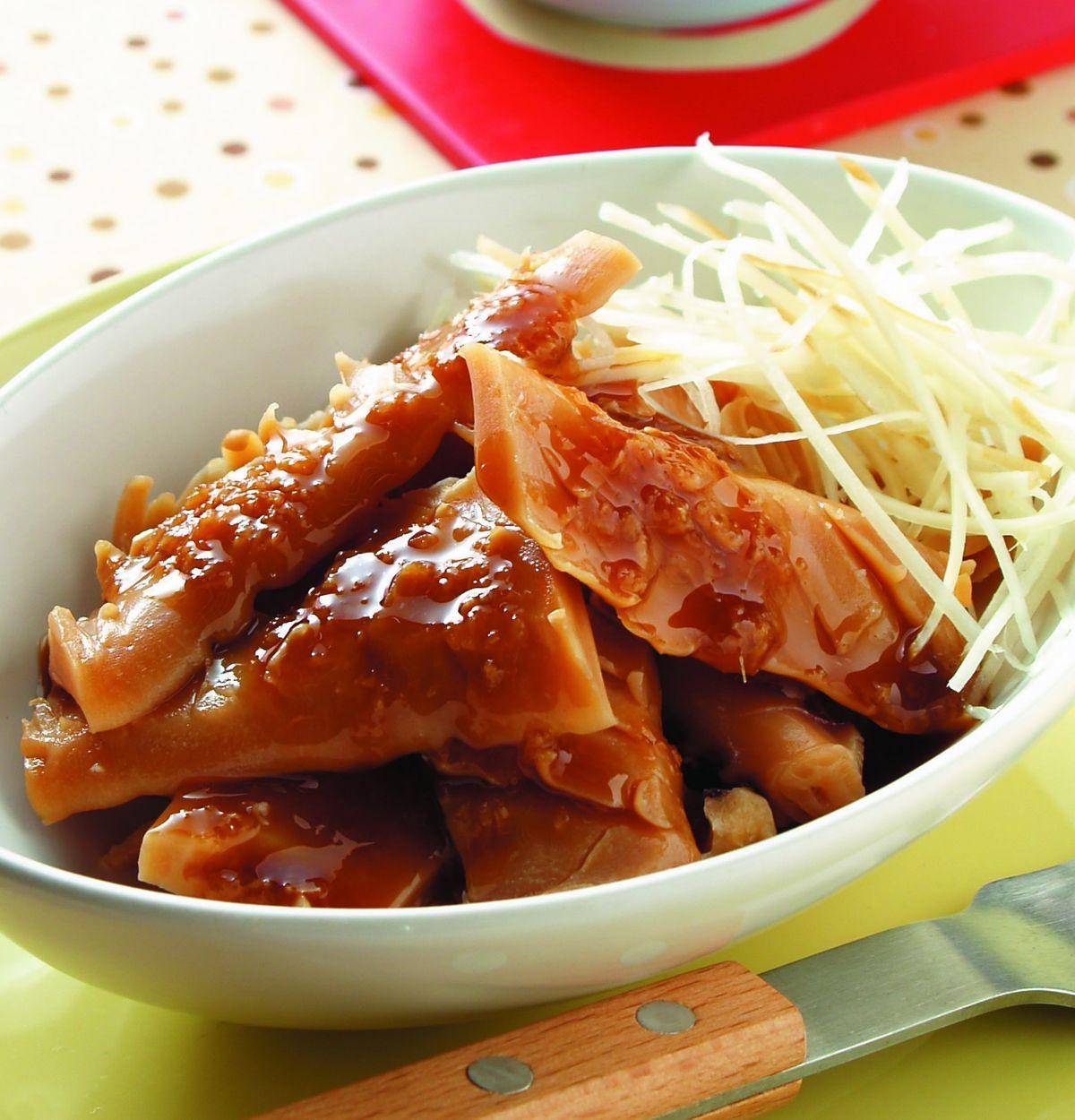 食譜:薑醋魷魚
