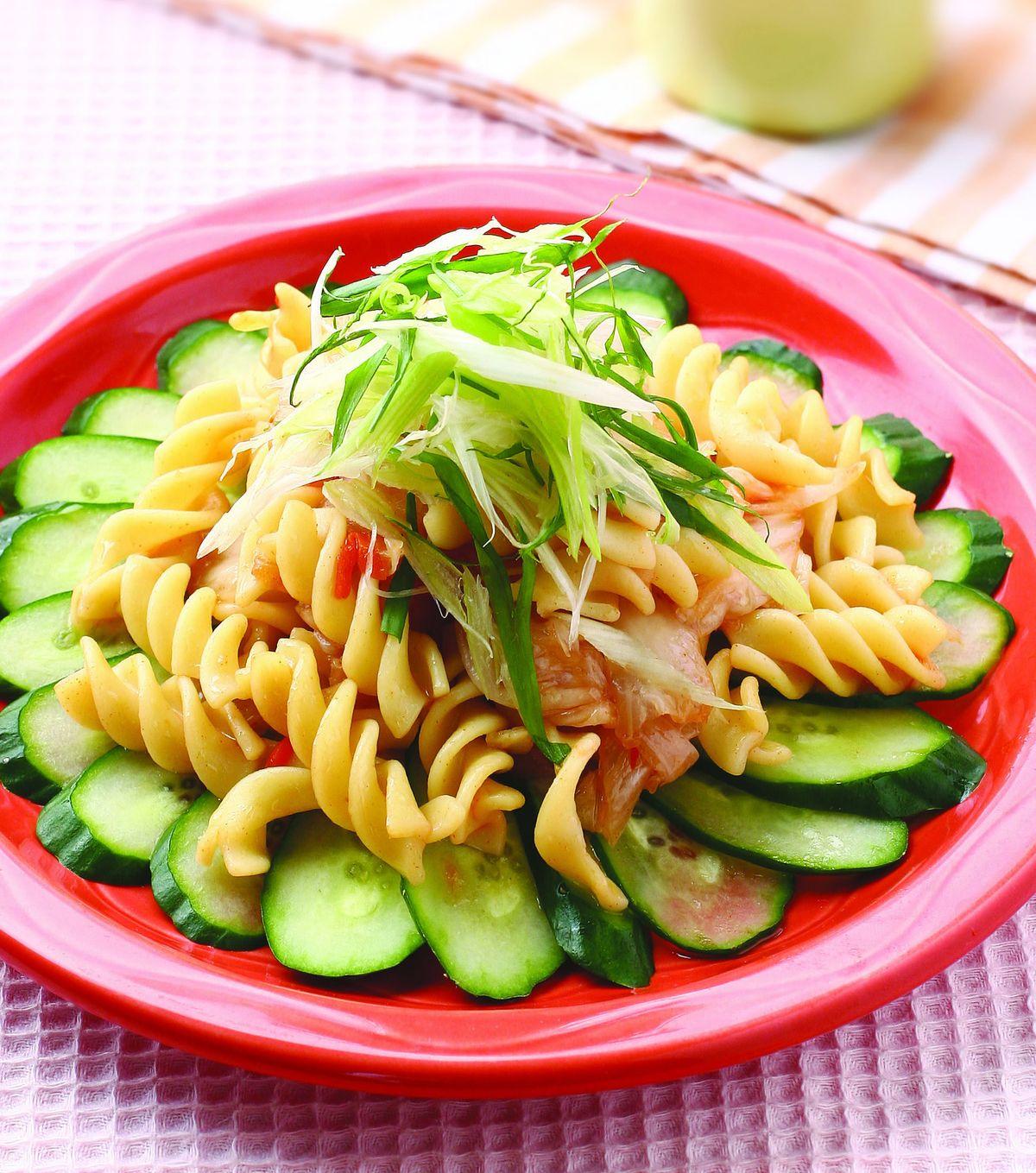 食譜:螺旋泡菜冷麵