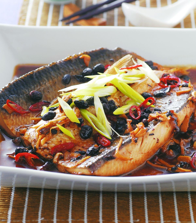 食譜:豆豉虱目魚腹