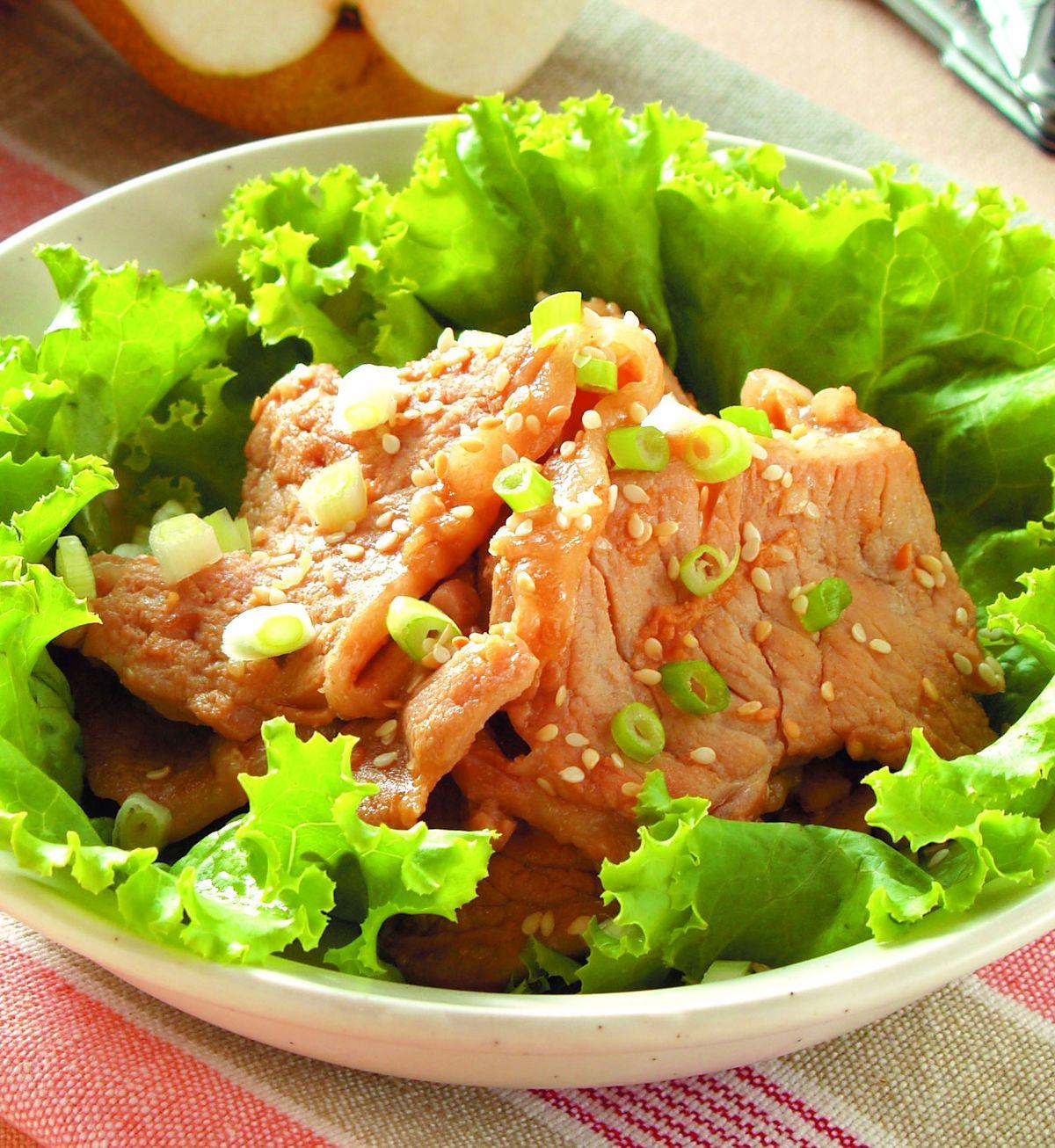 食譜:韓式燒肉片