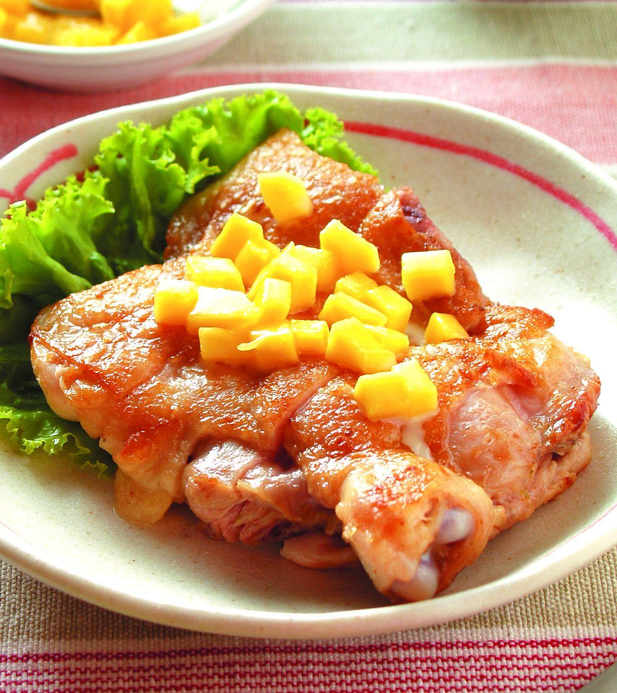 食譜:香芒檸檬雞