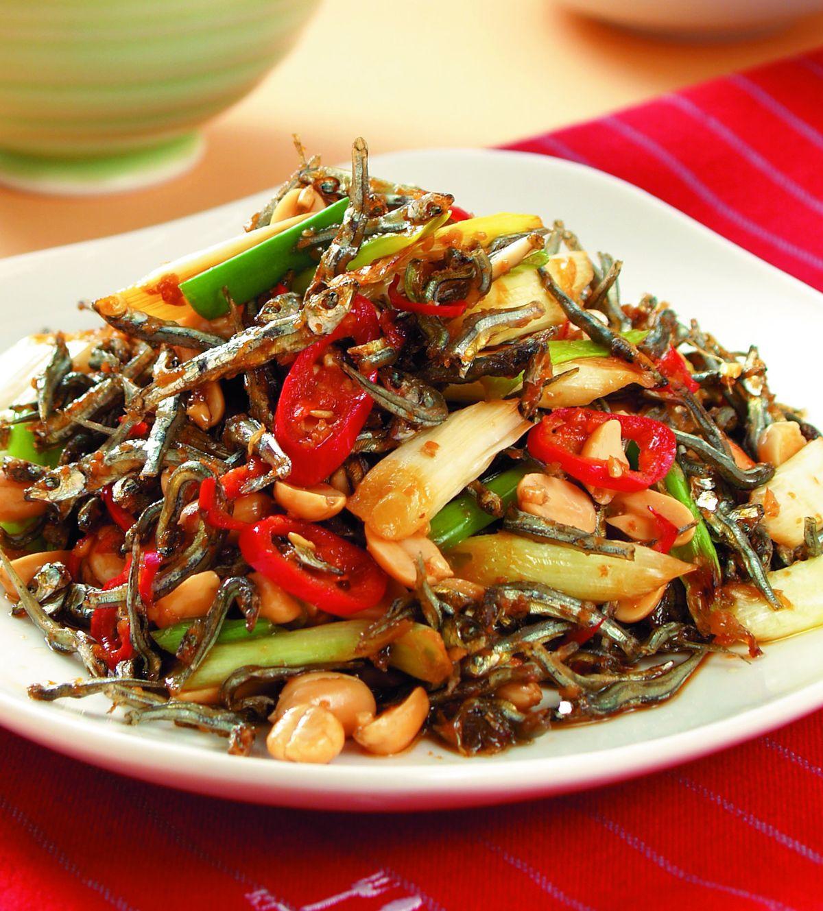 食譜:花生炒丁香(2)