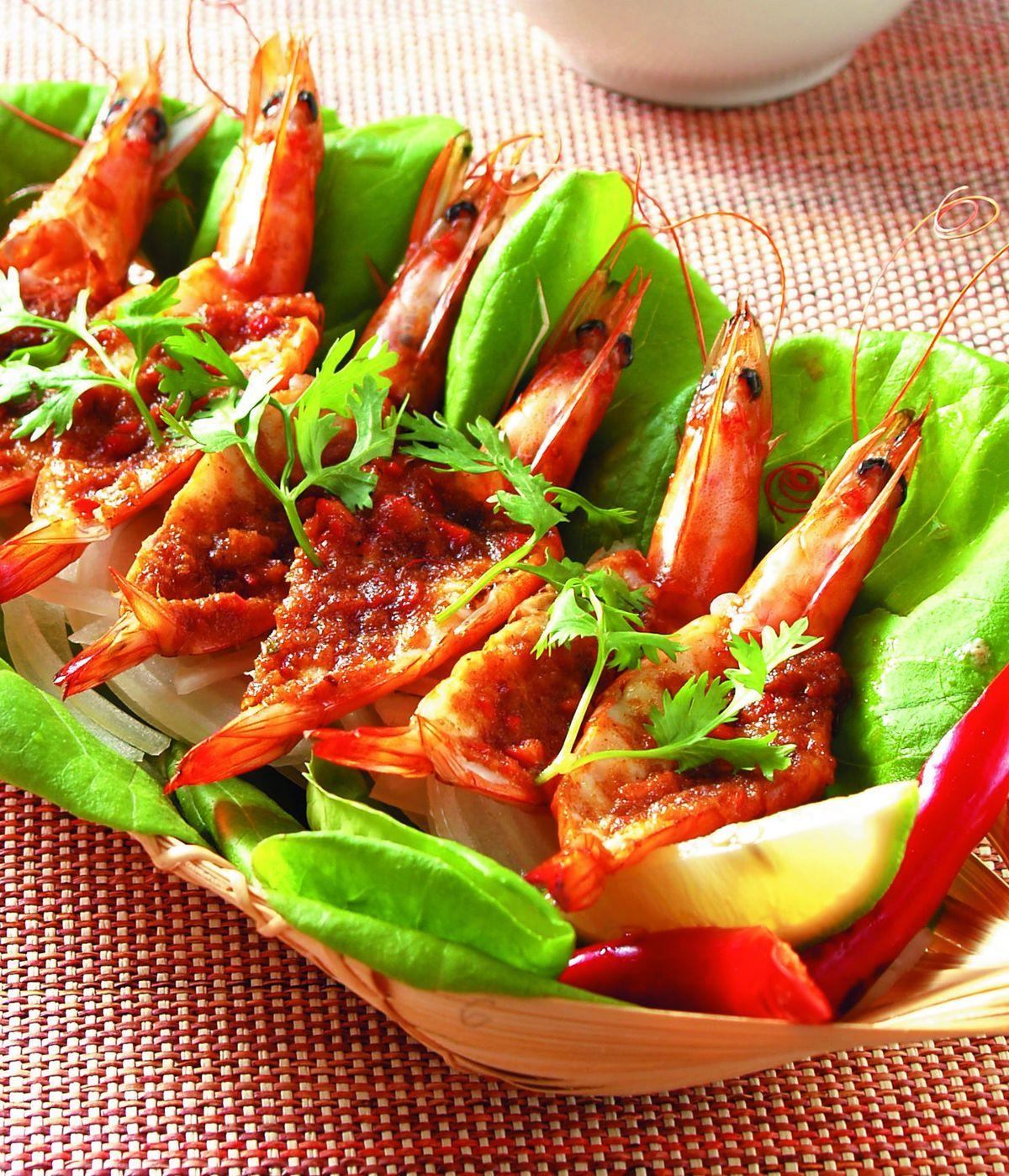 食譜:泰式蝦沙拉