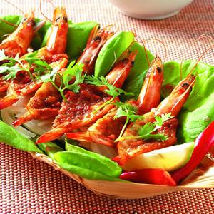 泰式蝦沙拉