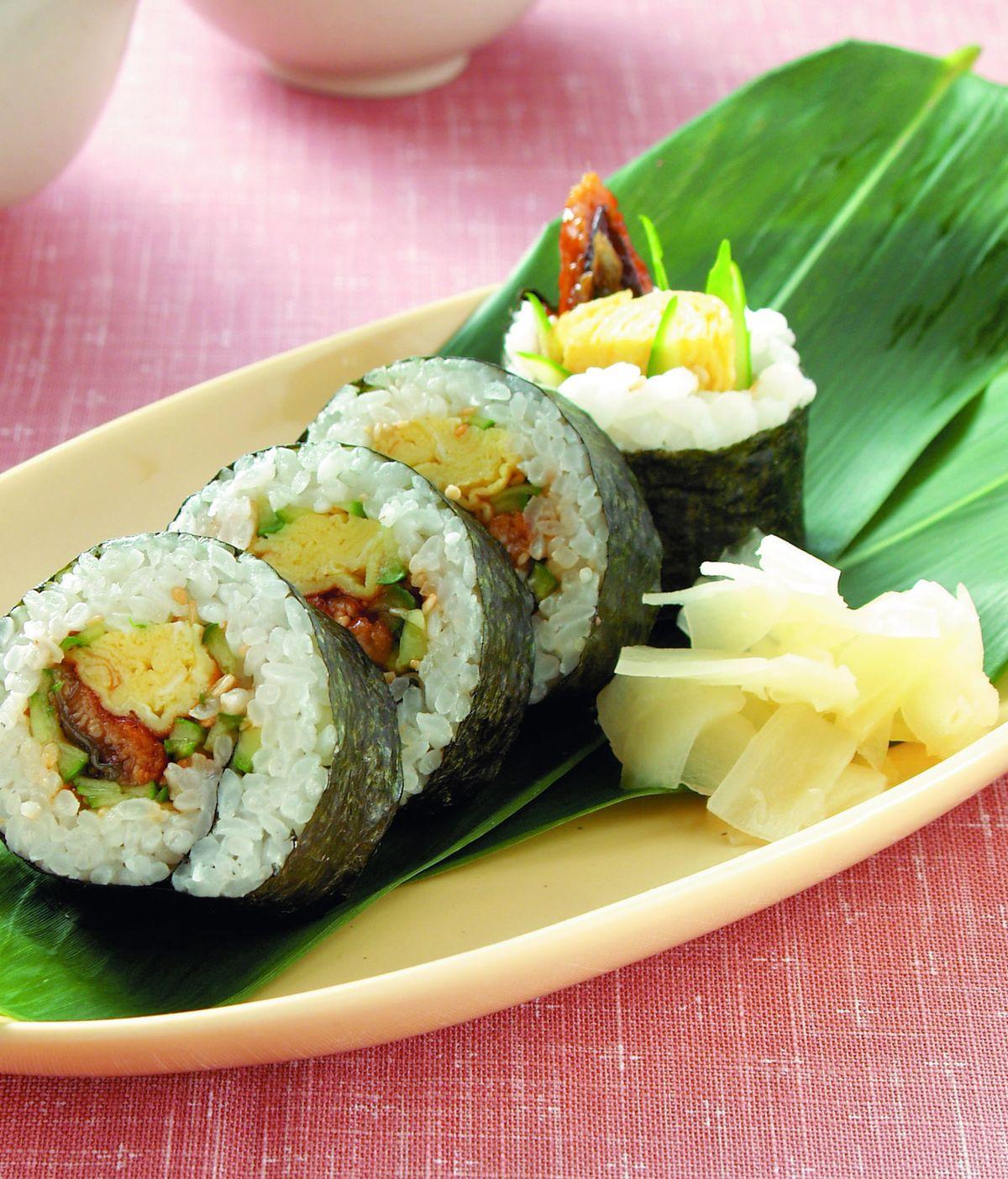 食譜:元氣壽司卷