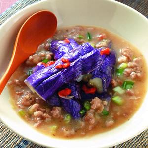 梅肉醬汁淋紫茄