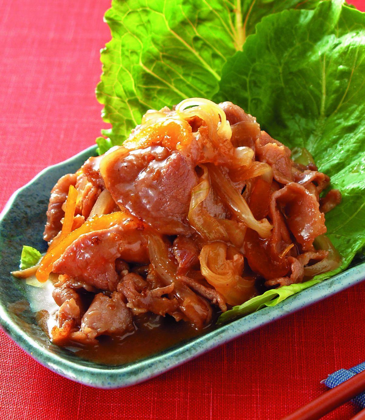 食譜:柚香燒肉