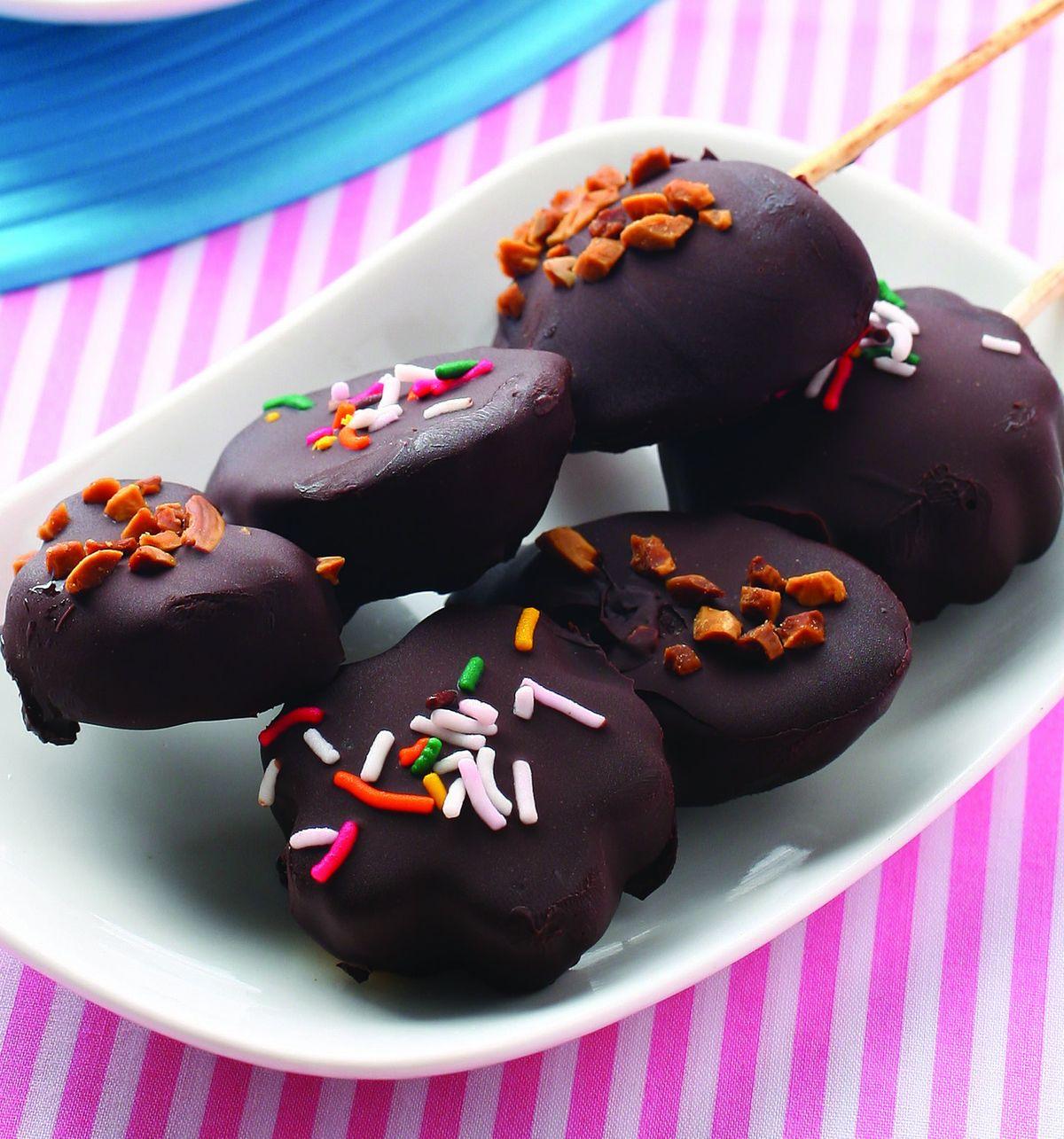食譜:綜合水果巧克力