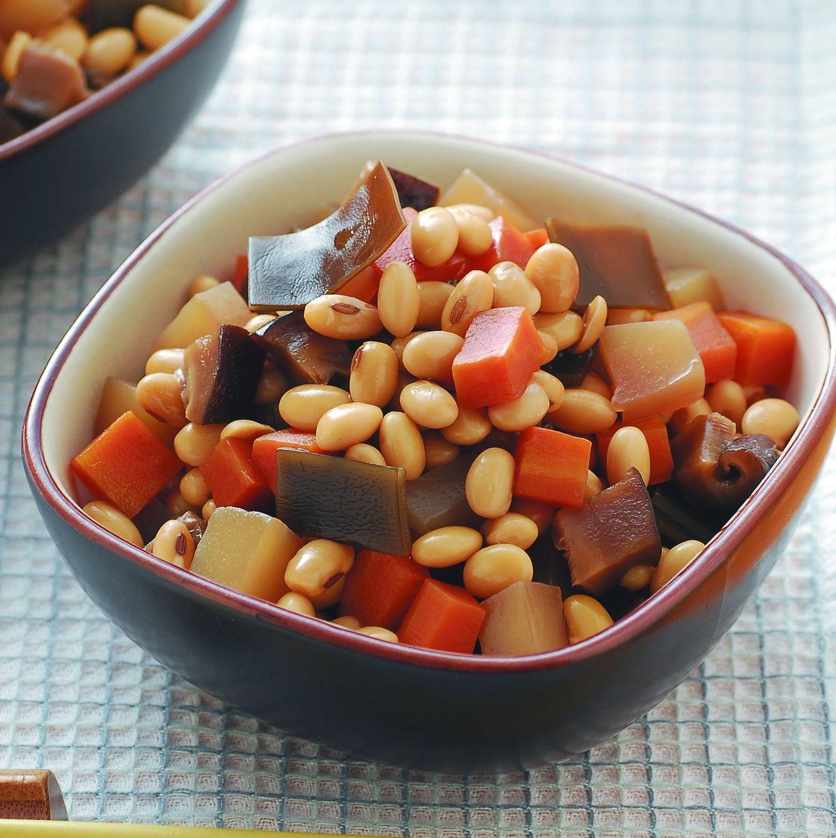 食譜:五目大豆煮