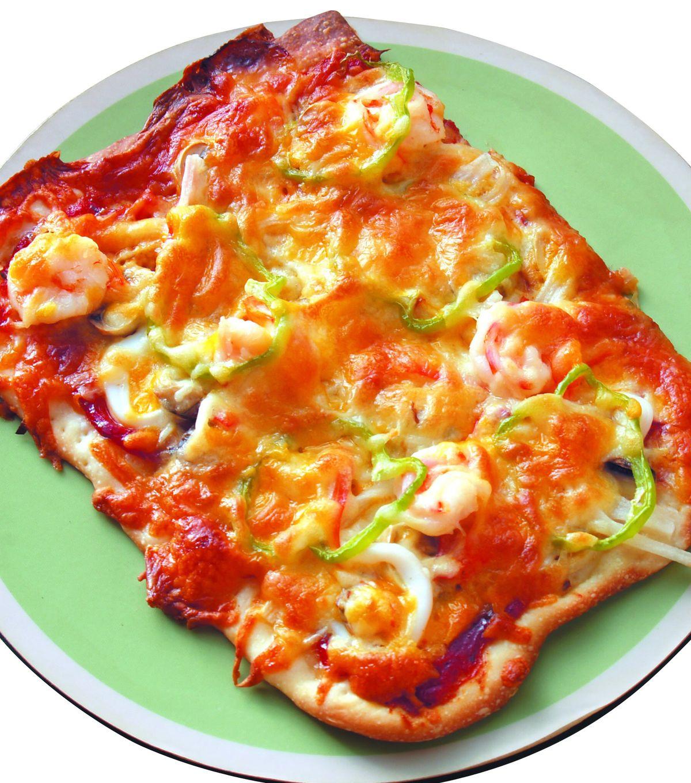 食譜:海鮮披薩