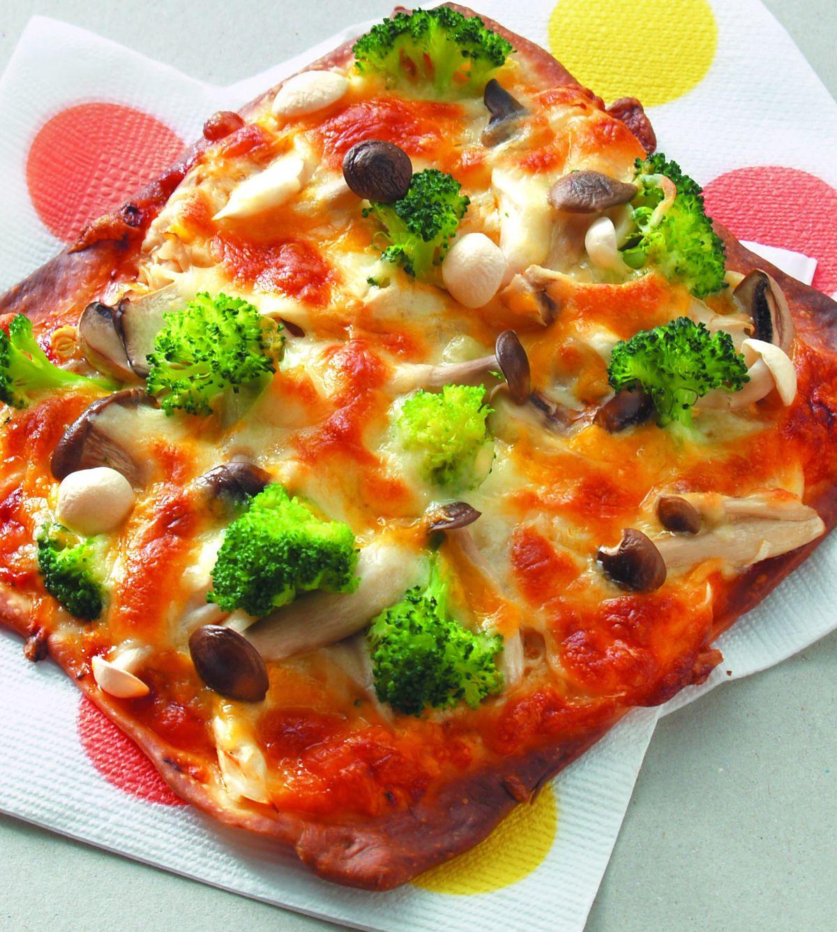 食譜:什錦鮮菇披薩