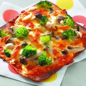 什錦鮮菇披薩