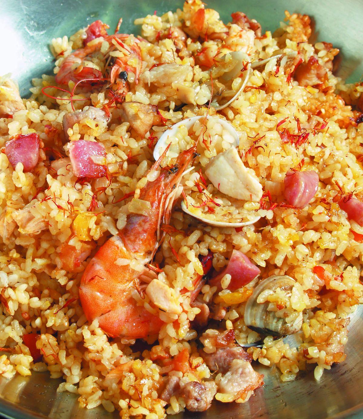 食譜:西班牙海鮮飯(3)