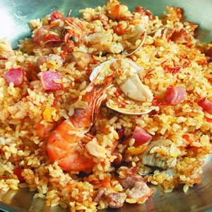 西班牙海鮮飯(3)