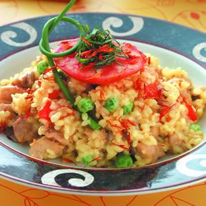 瓦倫西亞紅花飯