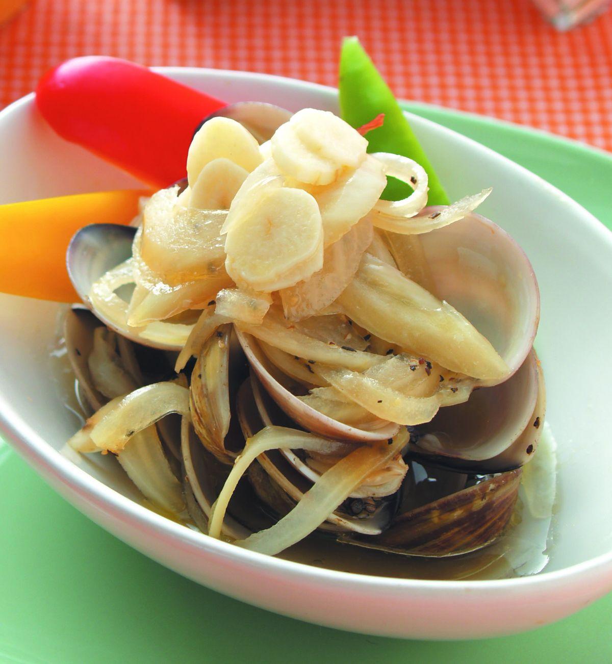 食譜:鮮烤蛤蜊