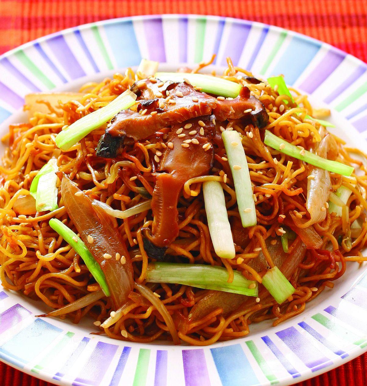 食譜:豉油皇炒麵(2)