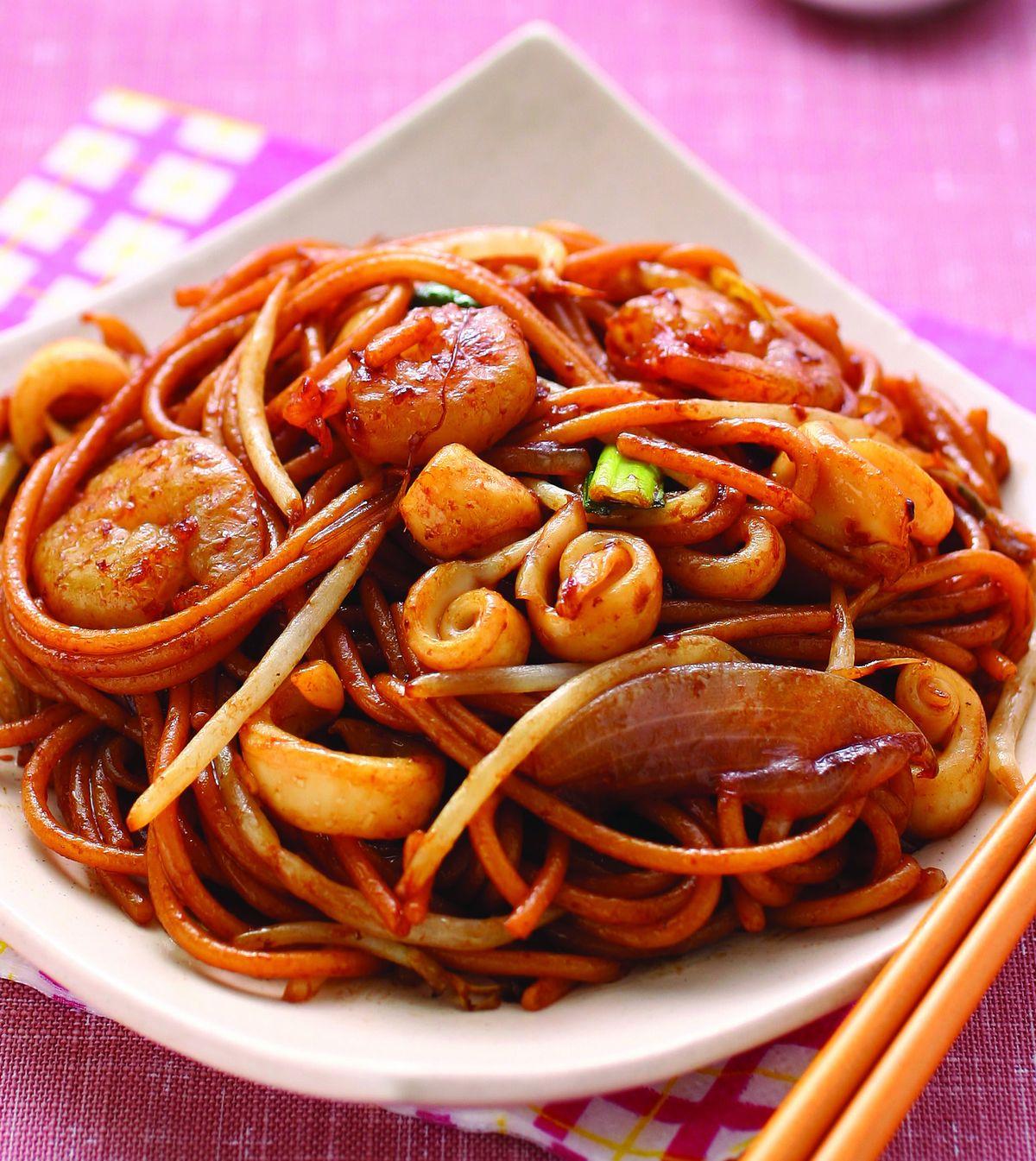 食譜:福建炒麵(1)