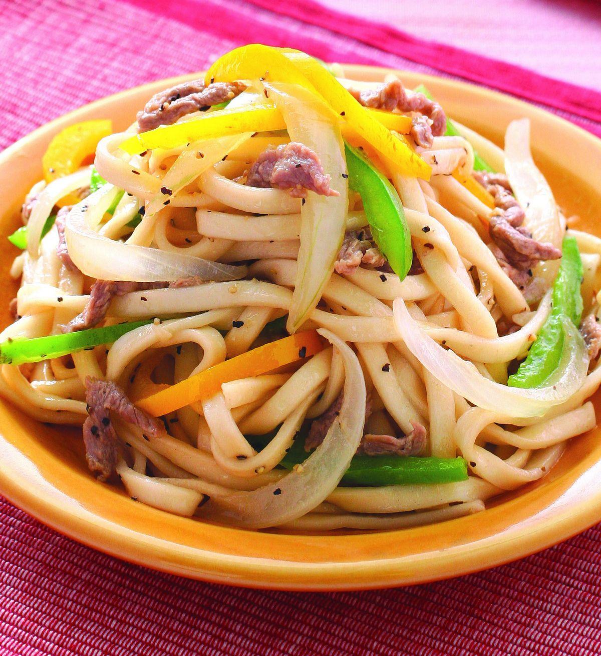 食譜:牛肉炒麵(2)